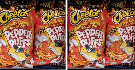 Cheetos Flamin' Hot Pepper Puffs Are Here And They Are The