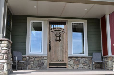 Turkey Solid Wood Wrought Iron Armored Entrance Doors For