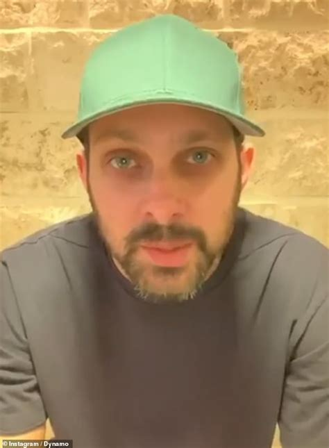 Dynamo, 37, says his 'tough start in life' is helping him
