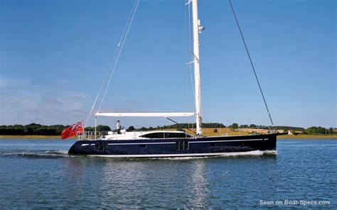 Oyster 675 keel and centerboard sailboat specifications