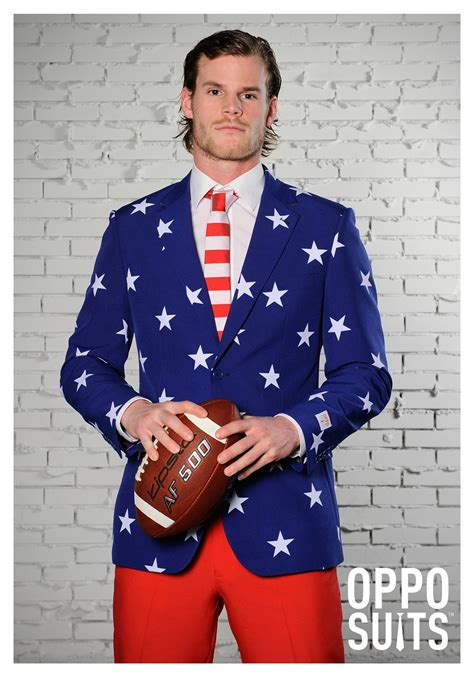 OppoSuits Stars and Stripes Men's Costume Suit