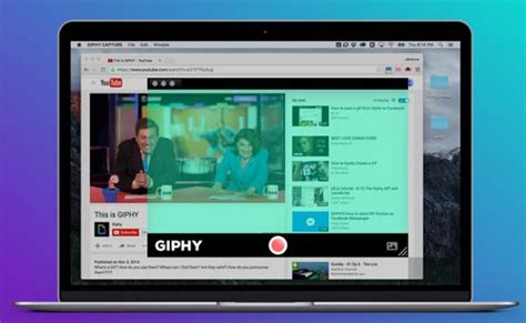 New Mac HD GIF Creator App Giphy Capture Now Available For