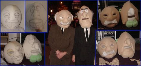 Statler and Waldorf Revealed by Halloweeners on DeviantArt
