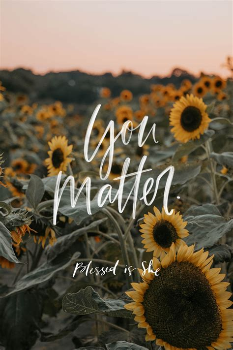 You Matter Here - Blessed Is She