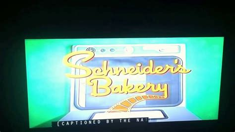 Schneiders Bakery Nickelodeon Productions - YouTube