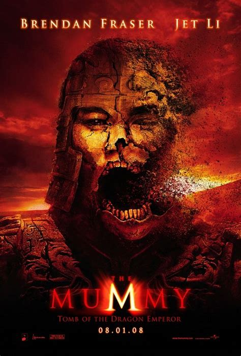 The Mummy: Tomb of the Dragon Emperor Movie Poster (#1 of