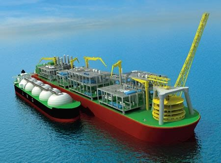 Shell set to build world's biggest floating structure