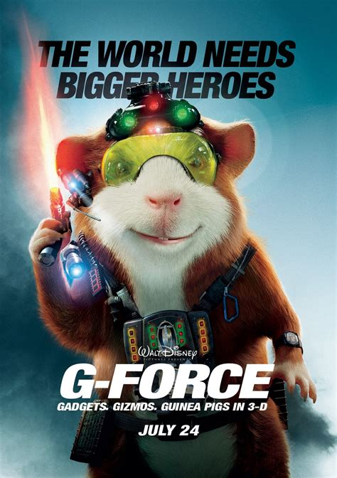 G-Force Theatrical Review, G-Force (2009), Movie Review