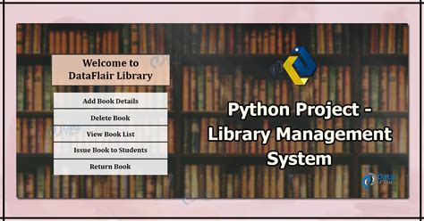 Library Management System - Python Project with Source