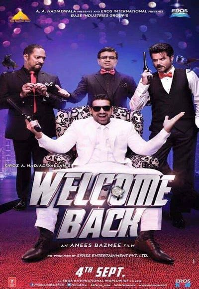 Welcome Back (2015) Full Movie Watch Online Free