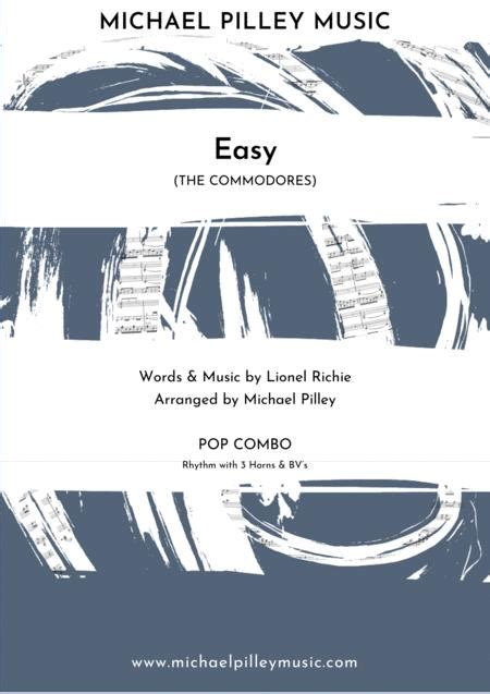 Easy (The Commodores) Pop Combo By The Commodores