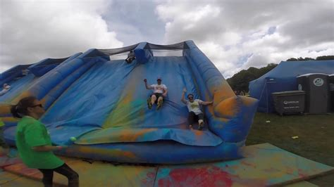 Colour Obstacle Rush - Newcastle, UK! - YouTube