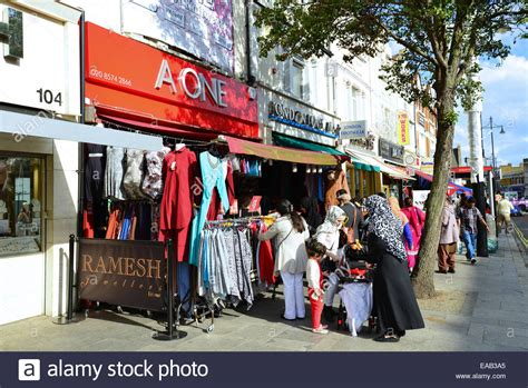 Indian clothing boutique, The Broadway, Southall, London