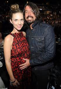 Foo Fighters frontman Dave Grohl and wife Jordyn Blum