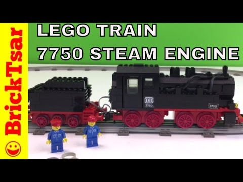 LEGO 7810 Push-Along Steam Engine Set Parts Inventory and