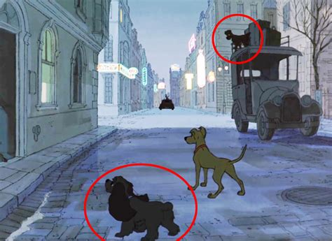 Lady and the Tramp Cameos   101 Dalmatians Easter Eggs