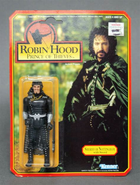 ROBIN HOOD PRINCE OF THIEVES, SHERIFF OF NOTTINGHAM WITH