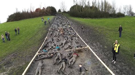 Strong Viking Obstacle Run - Probably the longest crawl up