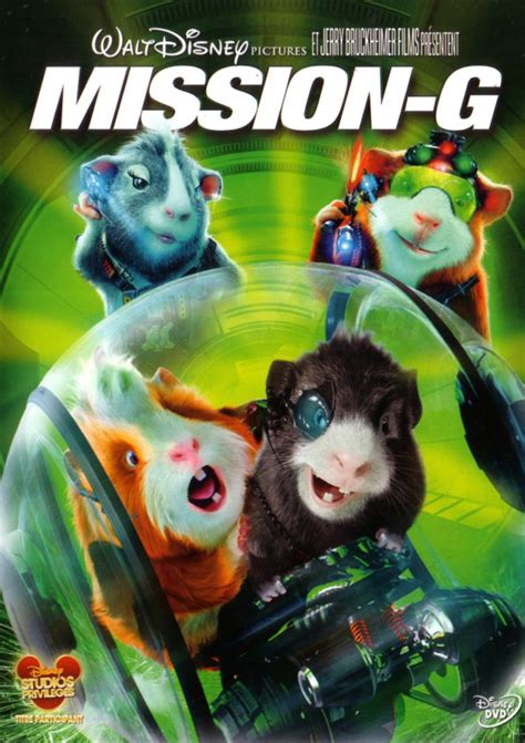 Jaquette/Covers Mission G (G FORCE)