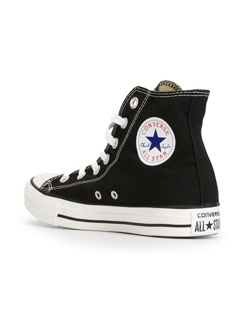 Converse Cotton Sequin Flame Sneakers in Black - Lyst