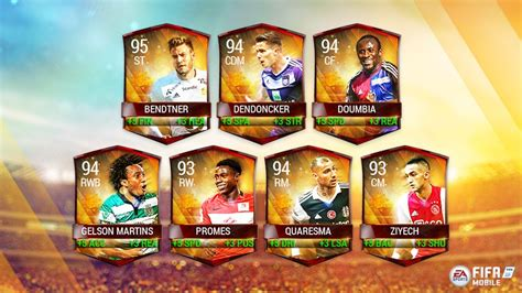 FIFA Mobile's Summer Celebration arrives with 99-overall