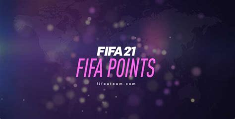 FIFA Points Prices for FIFA 21 Ultimate Team