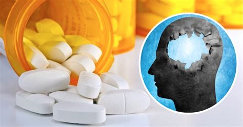 Prescription drugs can cause memory loss and brain issues