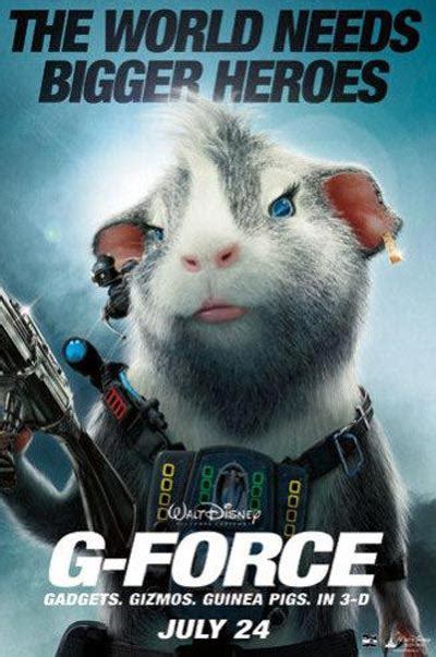 Four New G-Force Posters