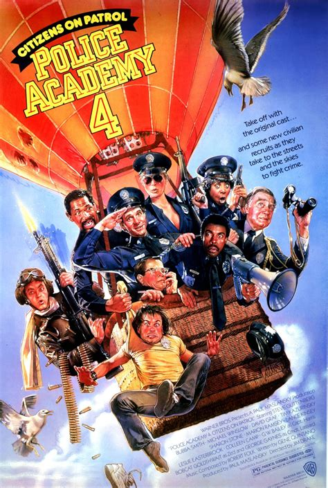 Police Academy 4: Citizens On Patrol Cast and Crew | TV Guide